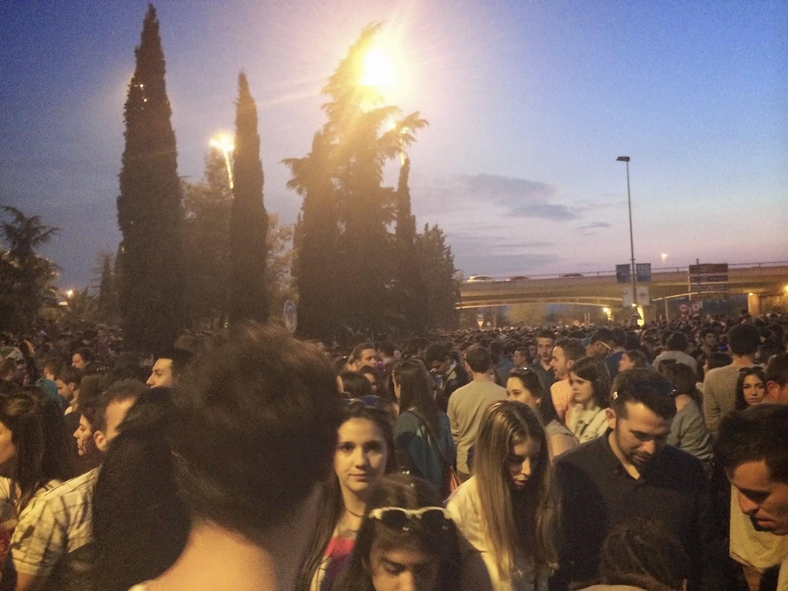 the road Granada 2014