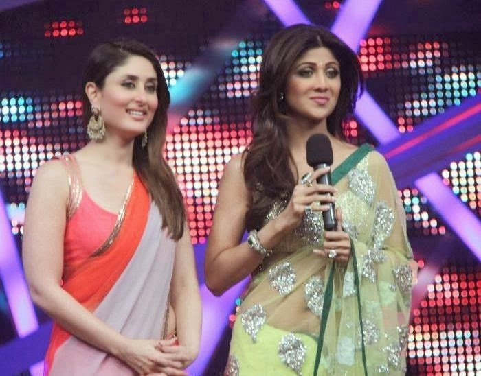 Kareena Kapoor Khan & Shilpa Shetty :Kareena Kapoor, Shilpa Shetty Sizzle Hot navel Show Belly Visible Hot Pics On Nach Baliye 6 Hottest HD Photos