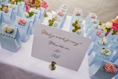 dicas de lembrancinhas e presentes de bodas de papel