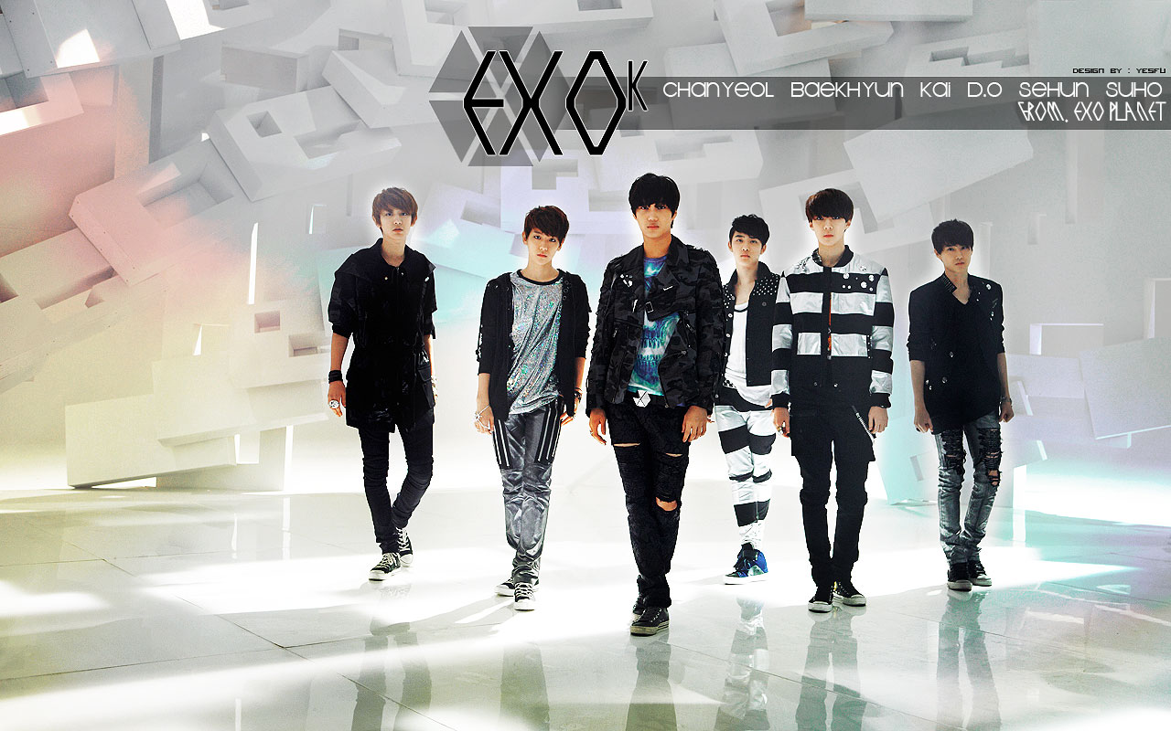 Wallpaper Exo K Best Wallpaper