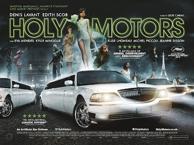 Cartel de Holy Motors el nuevo film de Léos Carax