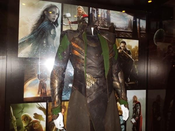 Loki costume Thor Dark World