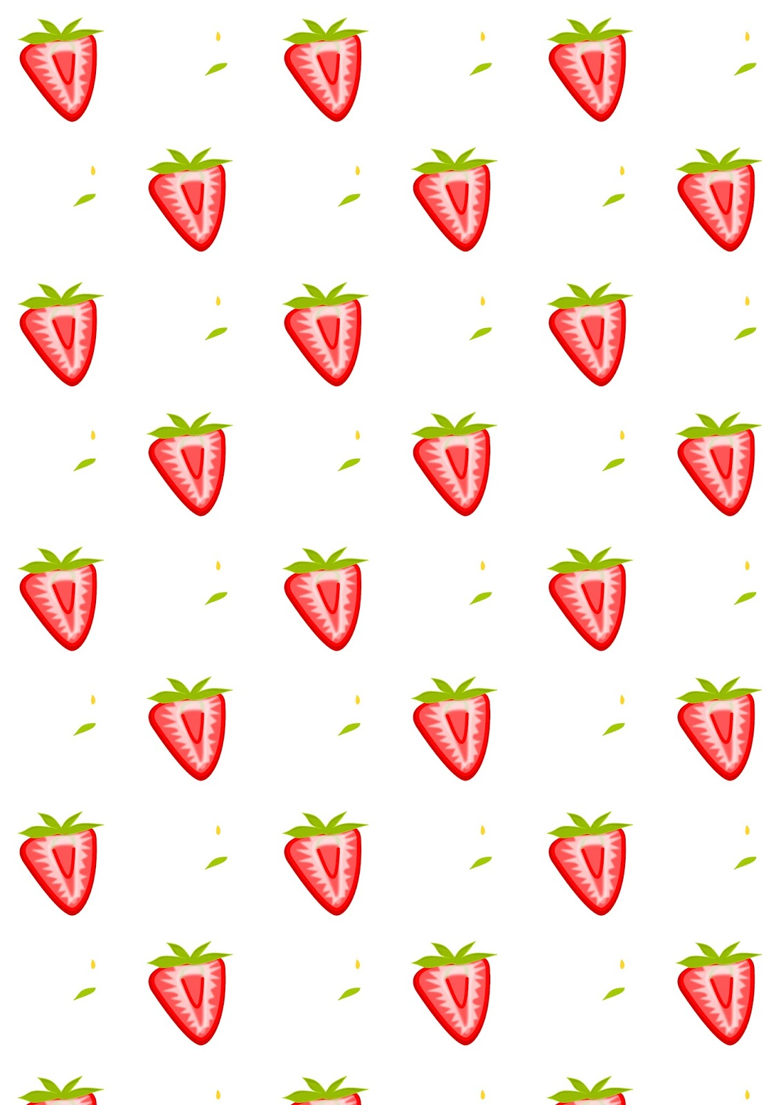 free digital strawberry scrapbooking paper ausdruckbares geschenkpapier freebie meinlilapark. Black Bedroom Furniture Sets. Home Design Ideas