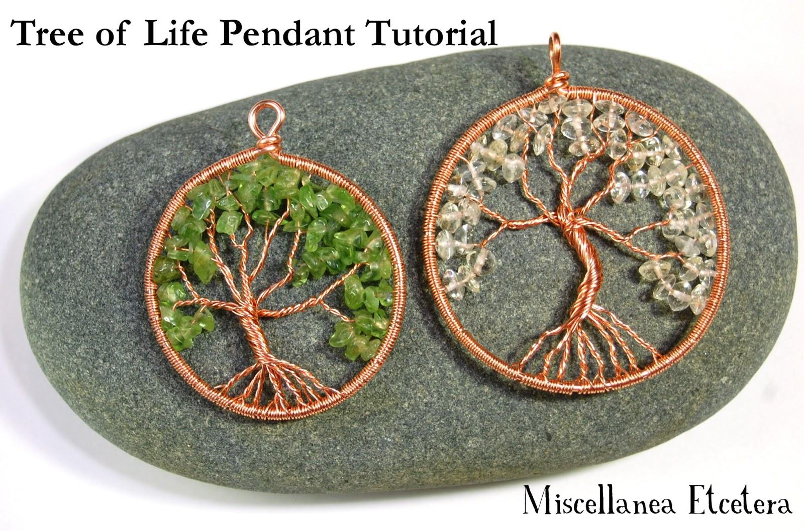 Miscellanea etcetera jewelry tutorial tree of life pendant for What is the meaning of the tree of life jewelry