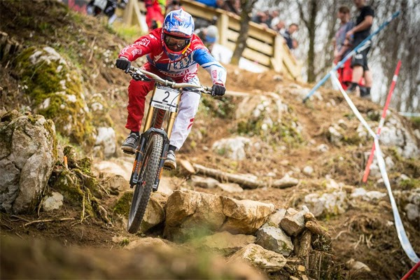 2015 Lourdes UCI World Cup Downhill: Results
