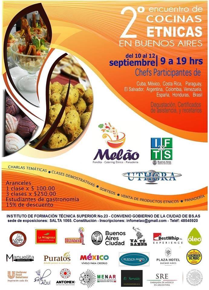 Acquaefarina Encuentro De Cocinas Tnicas En Buenos Aires