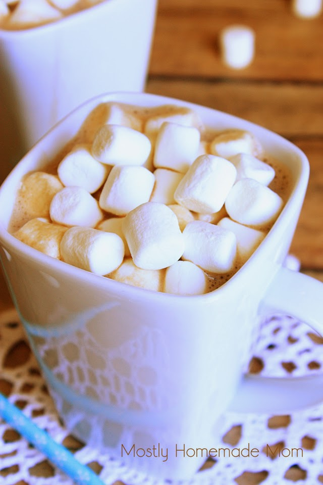 Melted Marshmallow Hot Chocolate  Mostly Homemade Mom