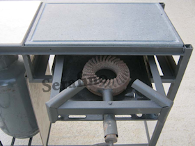 Come costruire un barbecue a gas tovaglioli di carta for Barbecue fai da te in ferro