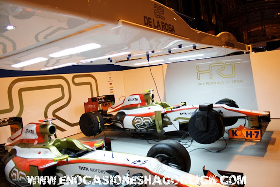 Box F1 HRT Madrid Motor Days