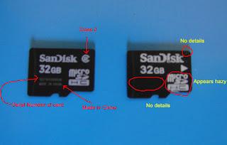 Sandisk microSD, Flash Memory Cards