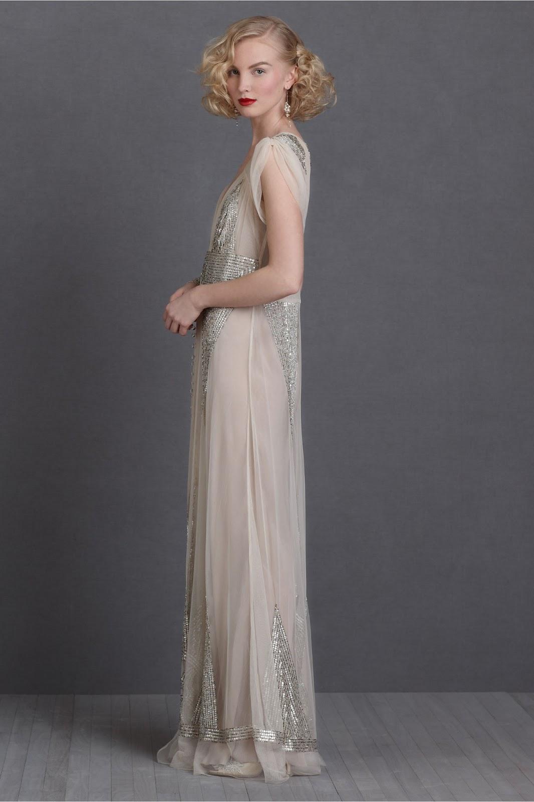 Robes de soiree style annees 20