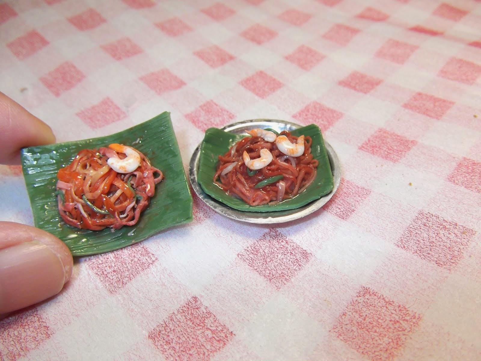 My handmade miniature kway teow