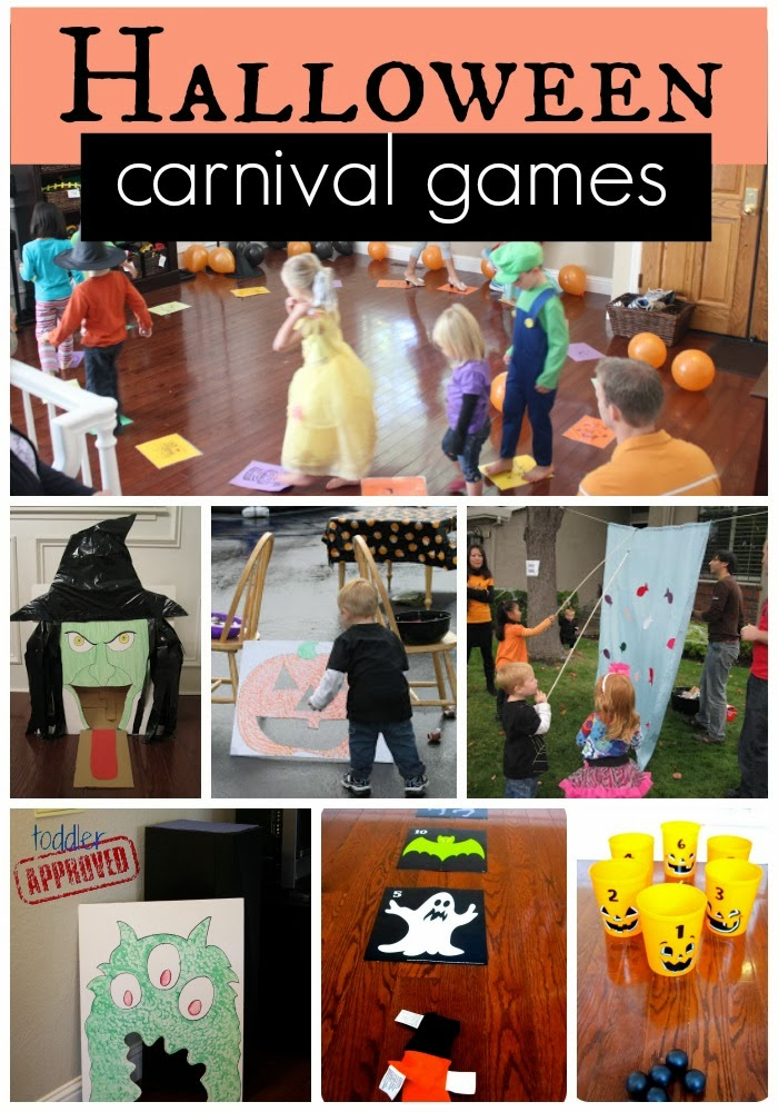 Toddler approved halloween carnival games for Halloween party games for preschoolers