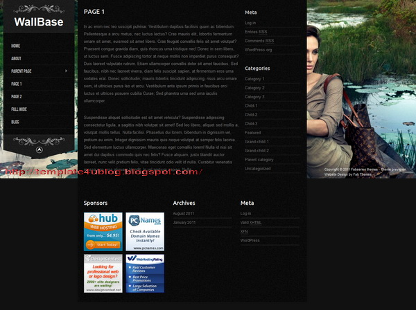 Wallbase WordPress Theme