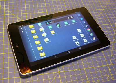 Google Nexus 7 for writers
