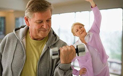 Senior Citizens Balance Exercise Routine
