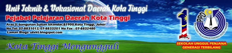 Unit Teknik dan Vokasional Daerah Kota Tinggi Johor