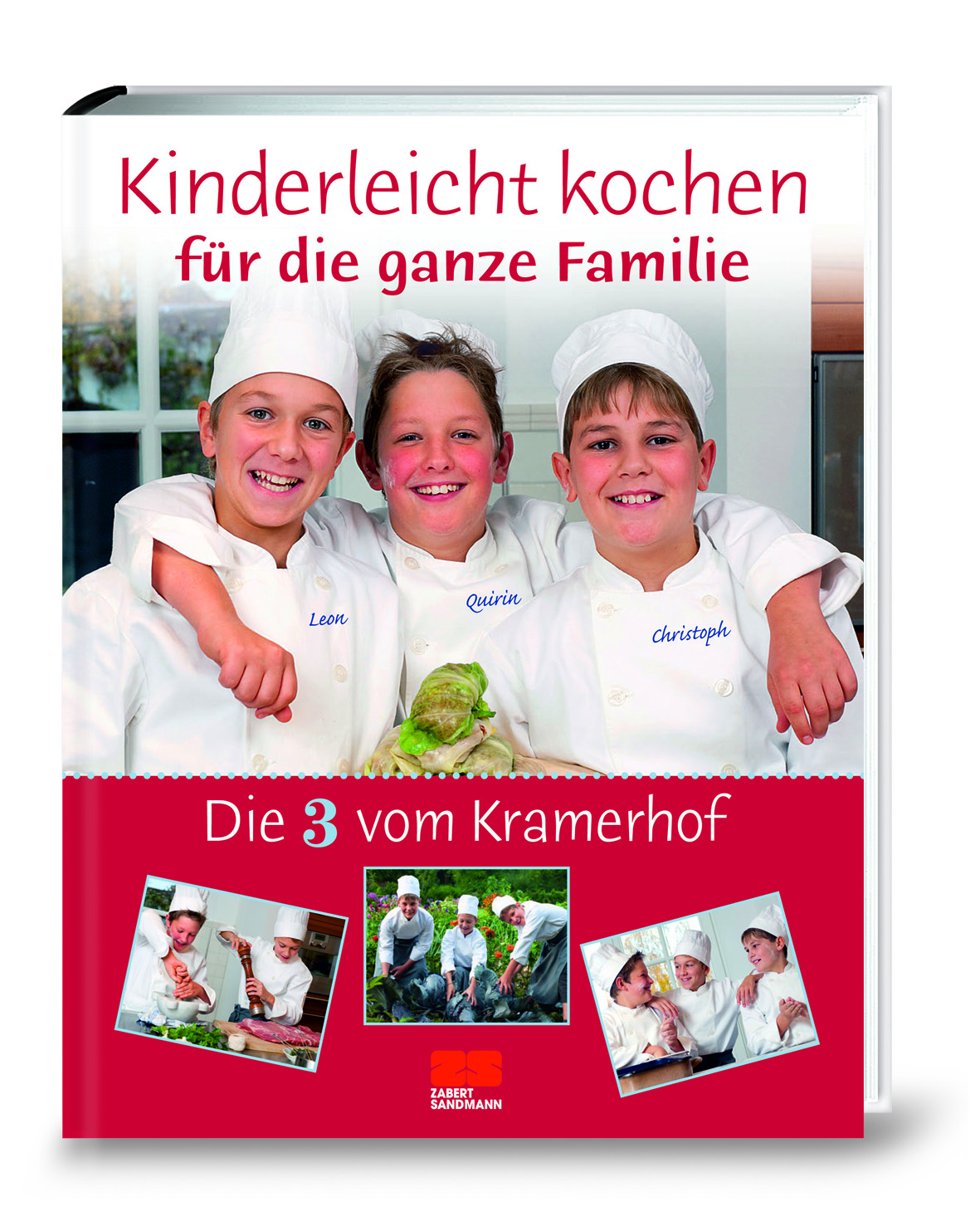 testfreak kinderleicht kochen f r die ganze familie die 3 vom kramerhof. Black Bedroom Furniture Sets. Home Design Ideas