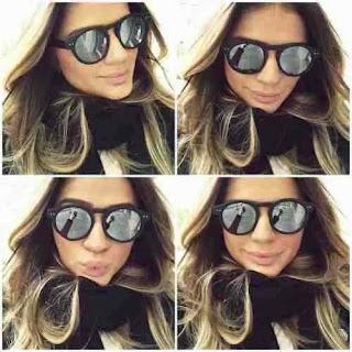oculos de sol verao 2016 illesteva espelhado