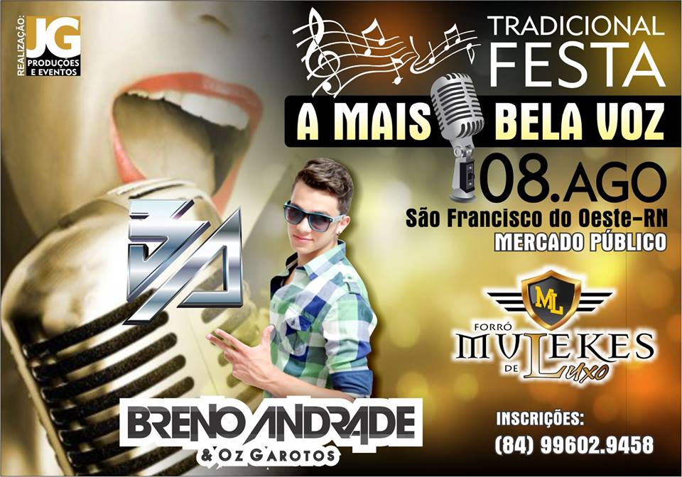 """TRADICIONAL FESTA DE """"A MAIS BELA VOZ 2015""""."""