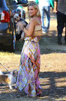 Joanna Krupa  at Mr.Bones Pumpkin Patch in Beverly Hills