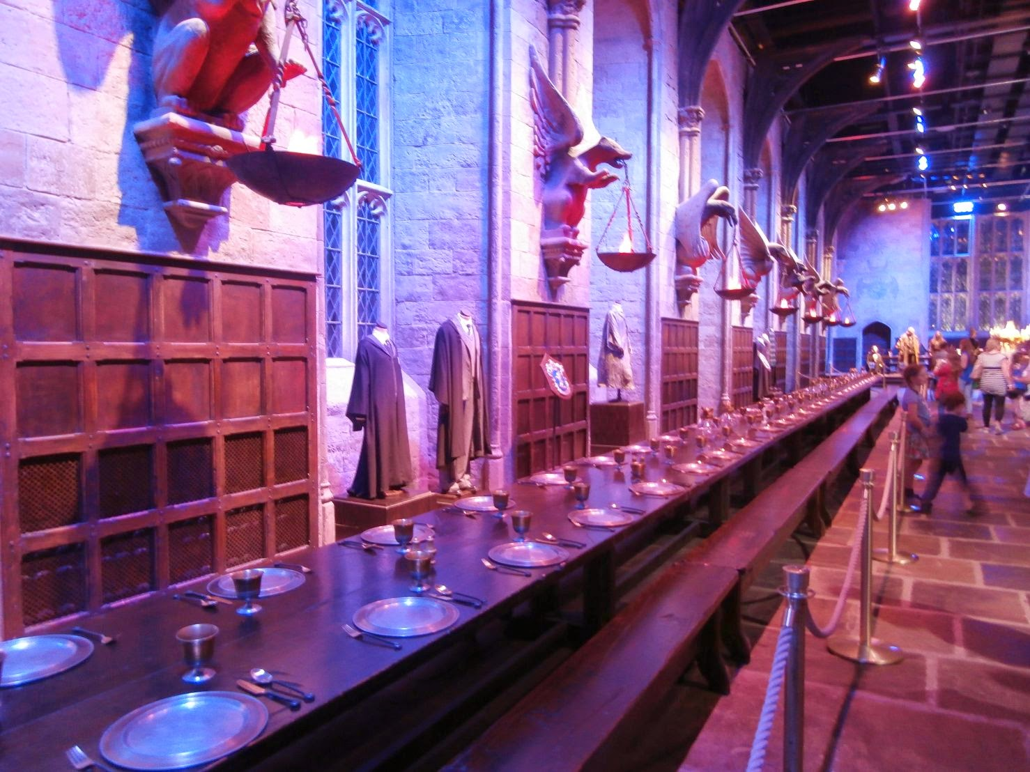 Comedor del Castillo Hogwarts, Warner Bros Studio, Harry Potter, Londres