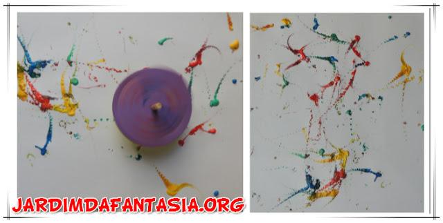 Atividade de Artes Pintura Divertida