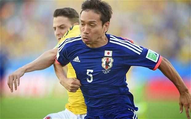 Kolombia Menang Telak atas Jepang  4-1
