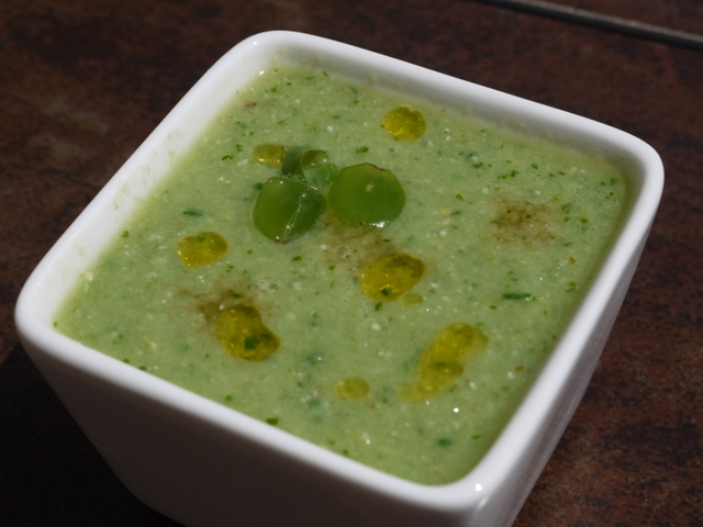 White Gazpacho (With Grapes)
