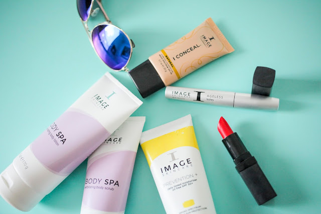 Amy West's Summer Skincare Selections featuring Image Skincare