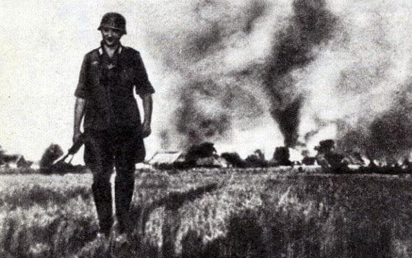 Пожар уничтожил 100 га пшеницы на Харьковщине - Цензор.НЕТ 5328