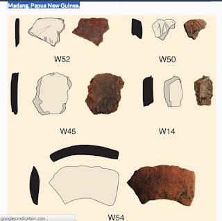 Pecahan Tembikar Berusia 3000 Tahun ditemukan di Papua New Guinea
