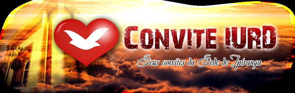 Convite IURD