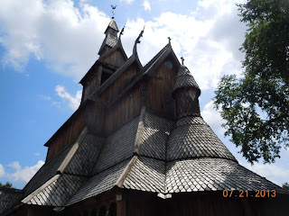 Hopperstad Stave Church Replica