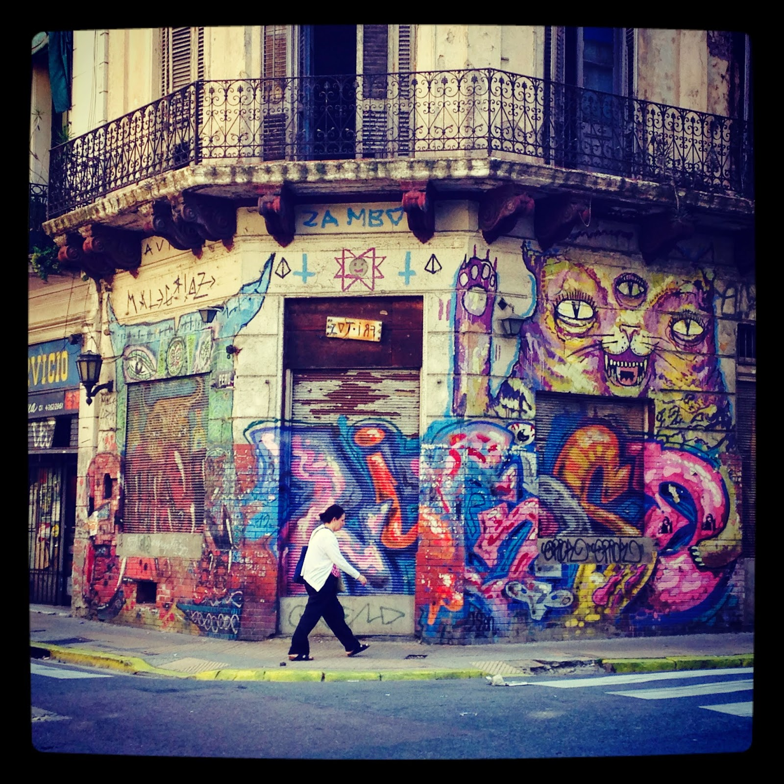 street art graffiti buenos aires argentina