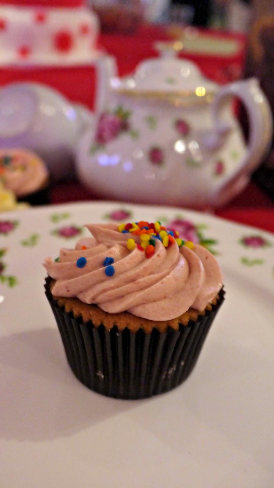 Beas of Bloomsbury cupcake at Yelp 10th birthday party