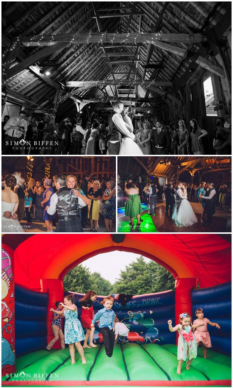 Wedding reception at Blackthorpe Barn
