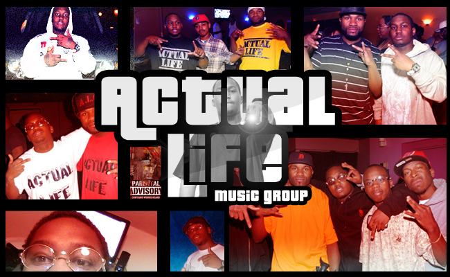 Logo For Actual Life Music Group