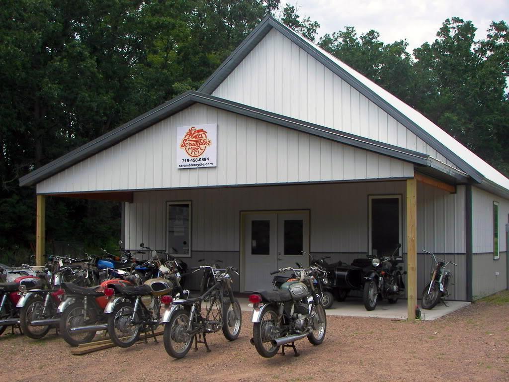 scrambler cycle shop | cameron, wisconsin