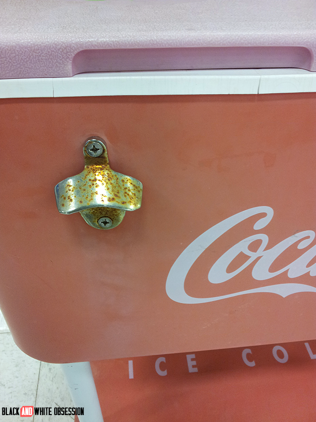 #thriftscorethursday Week 21: Vintage Coca Cola Cooler bottle opener | www.blackandwhiteobsession.com
