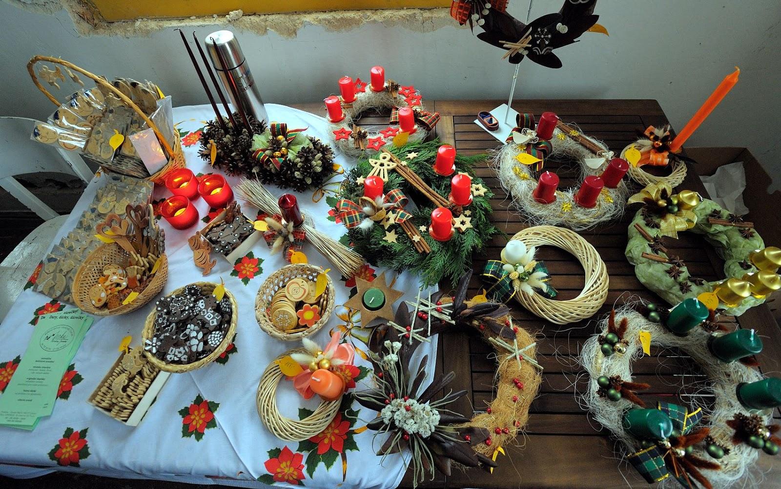 Advent na Krásné 30. 11. 2008 - výrobky