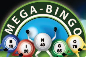 This is the mega bingo official logo