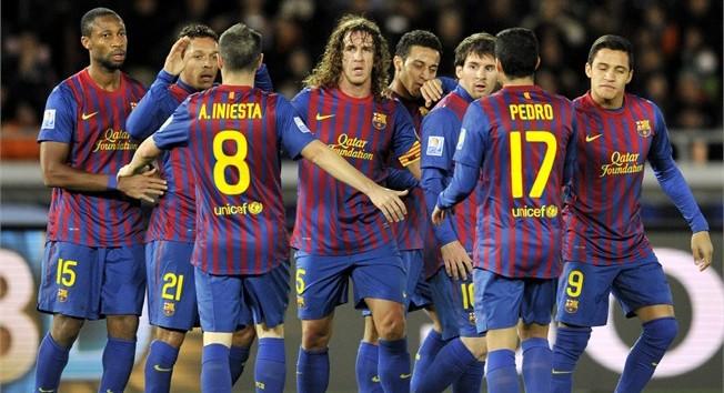 Mundial de Clubes : Barcelona 4 x 0 Al-Sadd
