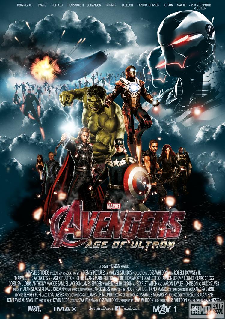 poster Biệt Đội Siêu Anh Hùng 2: Đế Chế Ultron