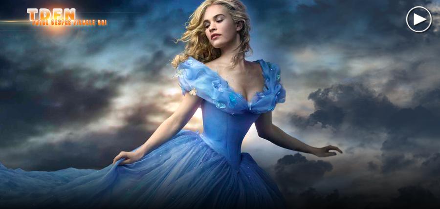 Cenuşăreasa (Lily James) în primul trailer extins pentru filmul Cinderella