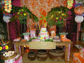 dicas para fazer uma festa havaiana