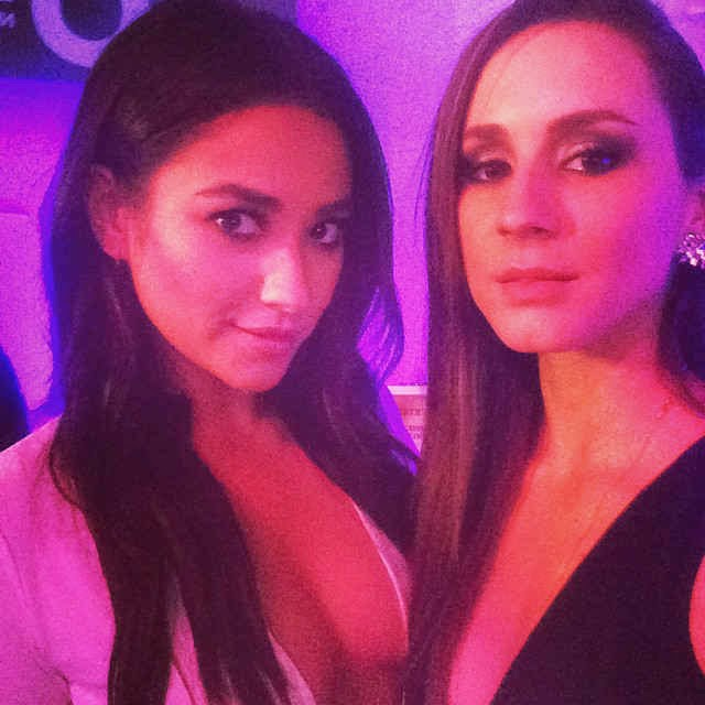 Shay Mitchell and Troian Bellisario