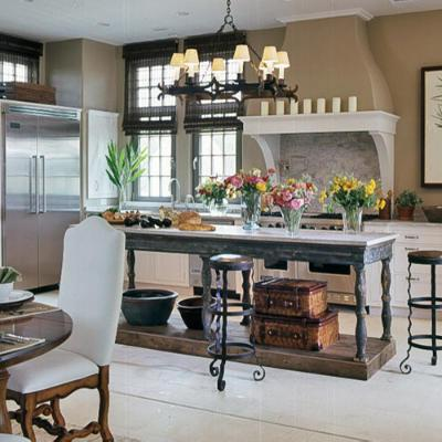 some great ideas on creating the perfect farmhouse kitchen