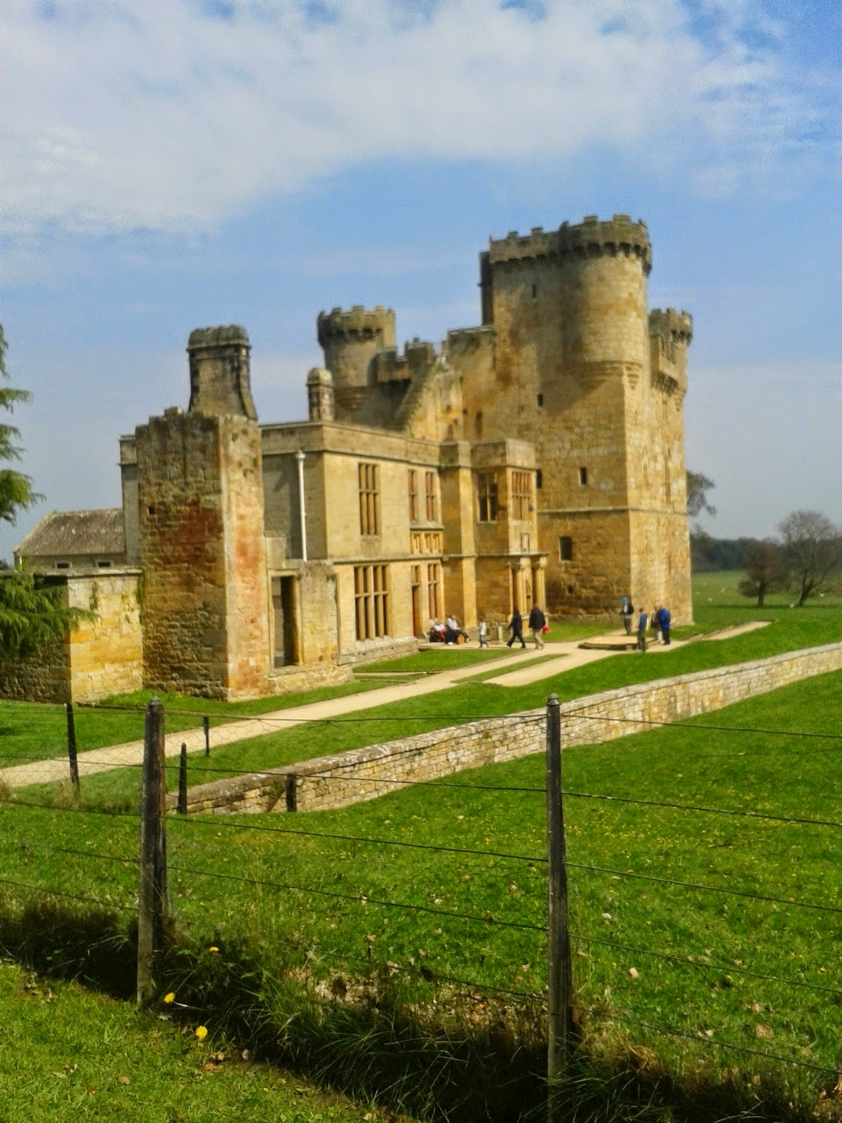 Belsay Castle.