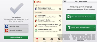 Microsoft Office Android App